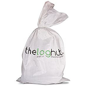 10kg The Chemical Hut Quality Seasoned Dried Softwood Logs For Firewood Pits Open Fire Stoves - Comes With The Log Hut Woven Sack from The Chemical Hut