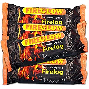 15 X Fireglow The Instant Lighting Firelog Burns For Up To 2 Hours from Fireglow