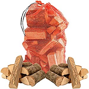 15kg Of Quality Kiln Dried Wooden Logs - Coal Alternative Fuel For Hotter Burning Fires Moisture Reduced To Only 20 - Comes With Tch Anti-bacterial Pen from The Chemical Hut