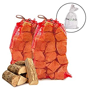 20 Kg Of The Chemical Hut Quality Seasoned Dried Softwood Wooden Logs For Firewood Open Fire Stoves by The Chemical Hut