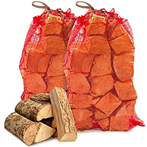 20kg The Chemical Hut Quality Seasoned Dried Softwood Logs For Firewood Pits Open Fire Stoves - Comes With Thechemicalhut Anti-bac Pen by The Chemical Hut