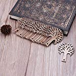 25pcs Laser Cut Wooden Tr...