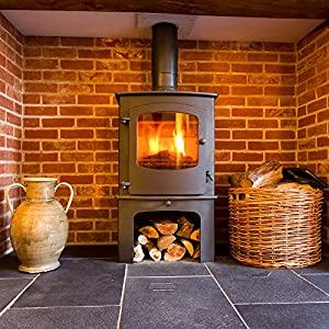 40kg The Chemical Hut Quality Seasoned Dried Softwood Logs For Firewood Pits Open Fire Stoves - Comes With Thechemicalhut Anti-bac Pen from The Chemical Hut