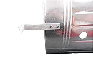 90l Litre Metal Galvanised Incinerator Firebin Bin Paper Waste Ash Garden by Stelchem