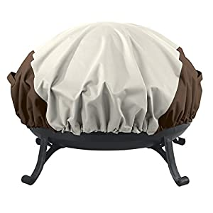 Amazon Basics Round Fire Pit Cover from AmazonBasics