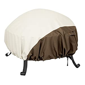 Amazonbasics Round Fire Pit Cover - Large by AmazonBasics
