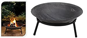 Ambience 50cm Cast Iron Garden Fire Pit Bowl by Ambience
