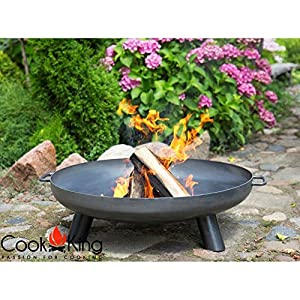 Bali Steel Fire Pit With 80cm Fire Bowl by Cook King