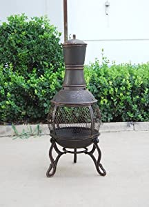 Bella Chimenea - Patiogarden Heater Outdoor Chiminea