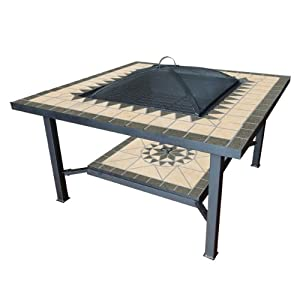 Benross Gardenkraft 19740 30-inch Garden Table With Fire Pit Centre from Benross Marketing Ltd