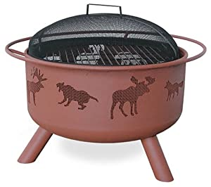 Big Sky Fire Pit Wildlifetheme from Landmann