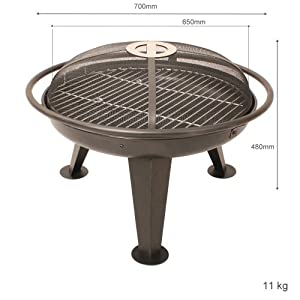 Blaze 65 Fire Pit by Boon