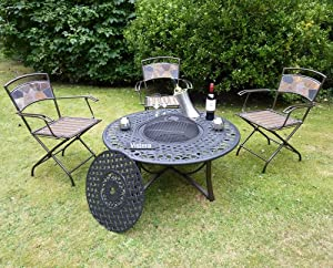 Bloomsbury Fire Pit Table by VISTERA
