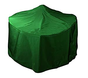 Bosmere Large Round Fire Pit Cover - Green from Bosmere Products