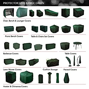 Bosmere Small Round Fire Pit Cover - Green from Bosmere Products