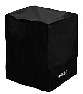 Bosmere Small Storm Square Fire Pit Cover - Black from Bosmere Products Ltd
