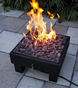 Brightstar Vega Portable Gas Fire Pit 18kw by Firepits UK Ltd