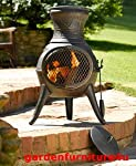 Bronze Squat 100 Cast Iron Chiminea...
