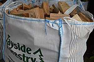 Bulk Bag Of Premium Seasoned Kiln Dried Firewood Logs 08m3 For Open Fires Stoves Log Burners Chimineas Fire Pits from Tayside Forestry