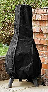 Castmaster Large Chiminea Cover Black