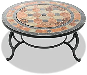 Centurion Supports Fireology Laniaka Lavish Garden Patio Heater Fire Pit Brazier Coffee Table