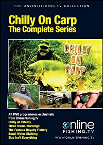 Chilly On Carp Dvd by Onlinefishing.tv