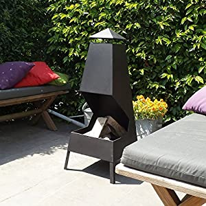 Chiminea - Outdoor Fireplace Leon - Free Shipping