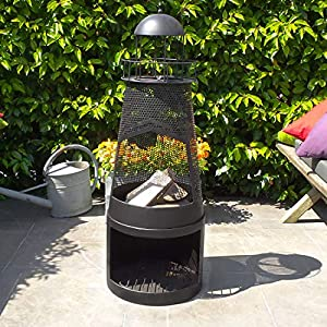Chiminea - Outdoor Fireplace Sevilla - Free Shipping