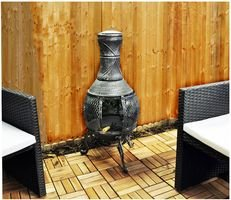 Chiminea With Bbq Fittings from Kingfisher