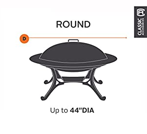 Classic Accessories 55-092-011501-00 Patio Round Fire Pit Cover by Classic Accessories