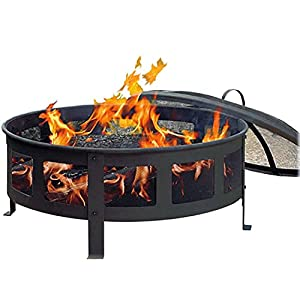 Cobraco Fb6540 Round Bravo Fire Pit from Woodstream Europe Limited