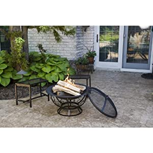 Cobraco Fb8002 Fire Bowl With Scroll Base by CobraCo