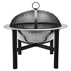 Cobraco Fbcicont-s Contemporary Round Fire Bowl from Woodstream Europe Limited