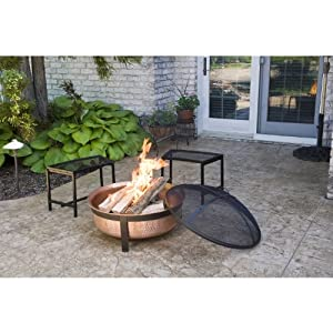 Cobraco Sh101 Hand Hammered With Copper Fire Pit Tub from Woodstream Europe Limited