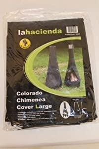 Colorado 160cm Outdoor Cover For Chiminea by La Hacienda Ltd