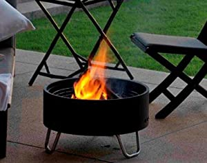 Contemporary Outdoor Circular Firepitbarbeque