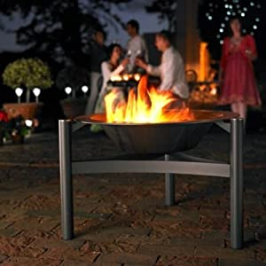 Dancook Outdoor Fire Pit Barbecue Grill Uses Wood Or Charcoal From At The Garden Incinerators Pits