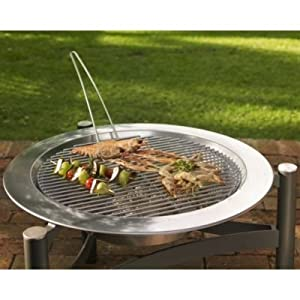 Dancook Outdoor Fire Pit Barbecue Grill Uses Wood Or Charcoal by dancook