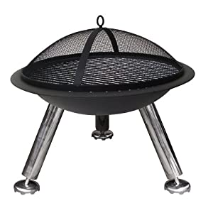Deluxe Firepit Bowl Cover Small by La Hacienda