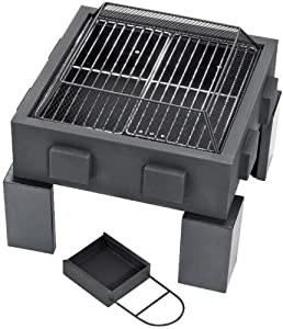Draper 77566 Fire Pit And Grill by Draper Tools