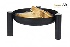 Dual Purpose 70cm Minnesota Round Firepit And Brazier by Nortpol