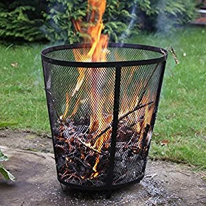 Durable Steel Garden Incinerator Or Fire Basket Pit - Ensures Fast Burning Of Any Garden Rubbish from Elliptical
