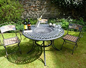 Eaton Fire Pit Table by WWW.GARDENITEMS.CO.UK