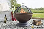 Enamelled Firepit With Gr...