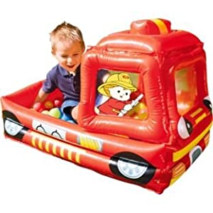 Encourage Role-play Funfire Engine Pool Ball Pit from Chad Valley
