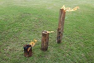 Esschert Design Ff105 50cm Wooden Fire Block by Esschert