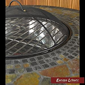 Europa Leisure Durango Fire Pit Table from Europa Leisure