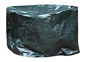 Extra Large Waterproof Firepit Firebowl Cover Up To 110cm Diameter X 65cm High - Suitable For Clay And Metal Fire Bowl by UK-Gardens