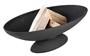 Fallen Fruits Oval Fire Bowl by Fallen Fruits