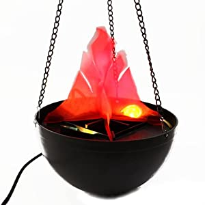 Familymalltmhanging Flame Light Pendant Fire Pit Lamp Prop Decoration Chandelier 20cm from FamilyMall Co., Ltd